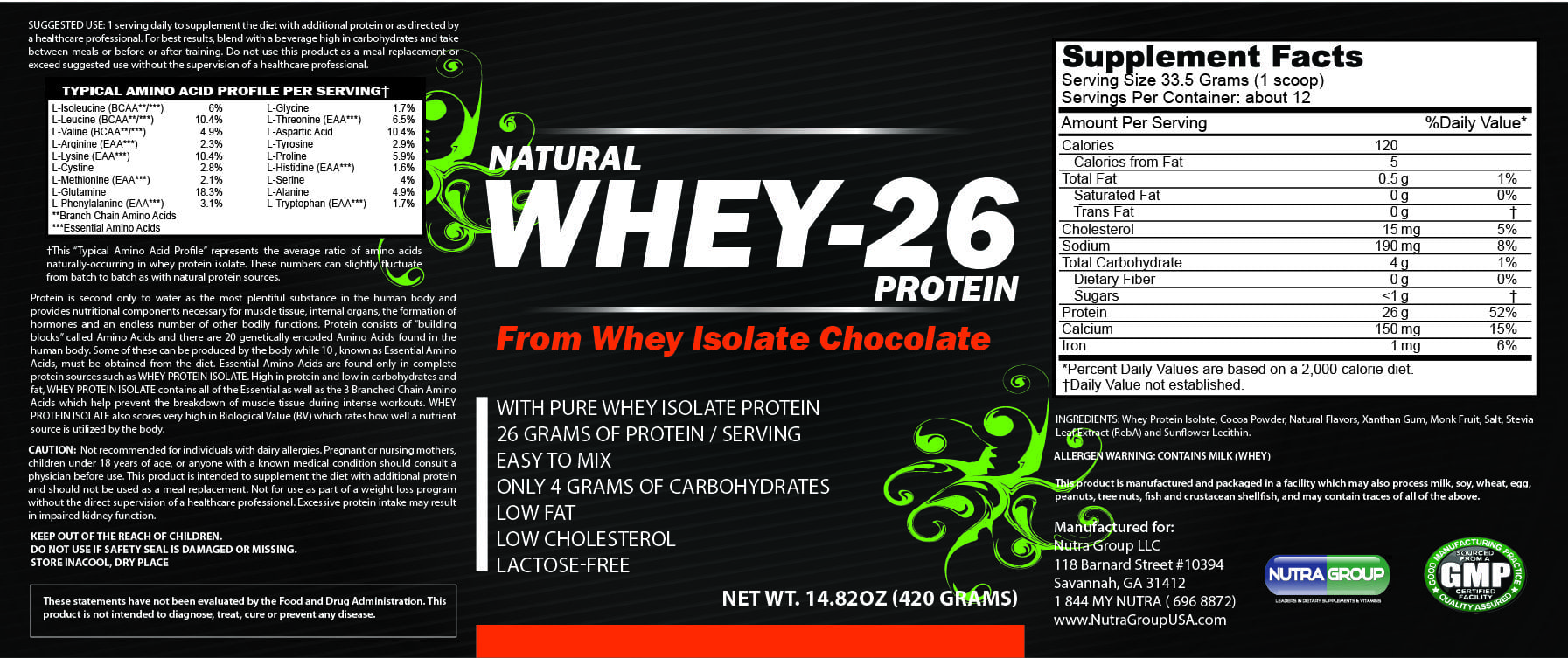 private label whey protein