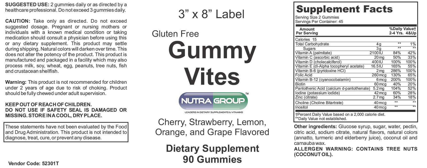 Private label Gummy MultiVitamin