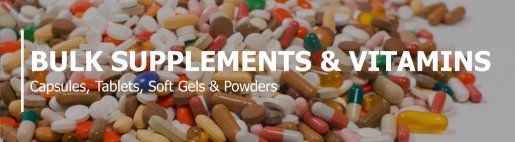 Wholesale bulk supplements