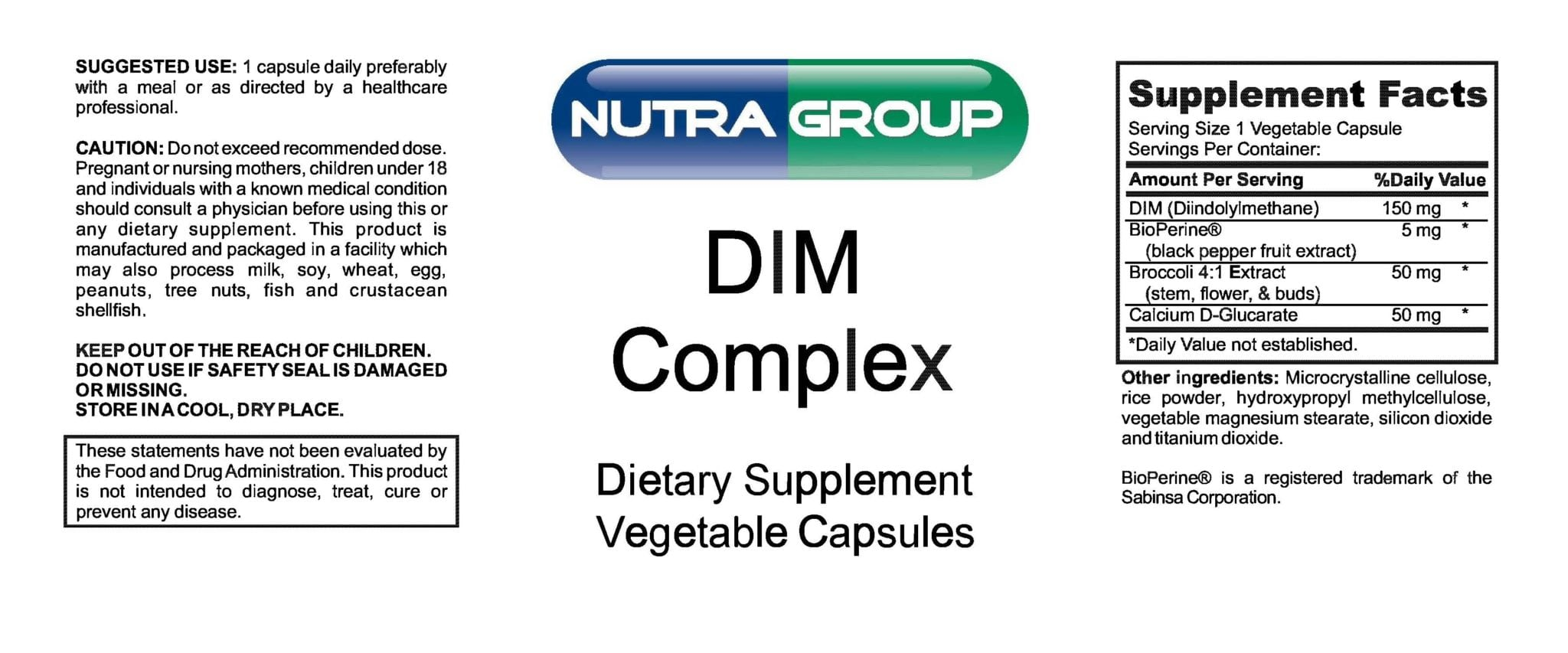 Private Label Dim Supplement